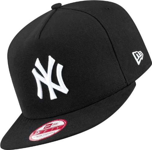 New Era - Casquette Strapback Homme New York Yankees 9Fifty Under Scape - Black - Taille S/M