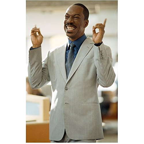 A Thousand Words Eddie Murphy as Jack McCall with Big Smile and Hands Up 8 x 10 Inch Photo