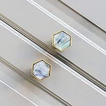 XYZMDJ 2 stuks messing meubilair handgrepen elegante deurknoppen en handgrepen voor kast keuken kast lade trekt muur opkno...