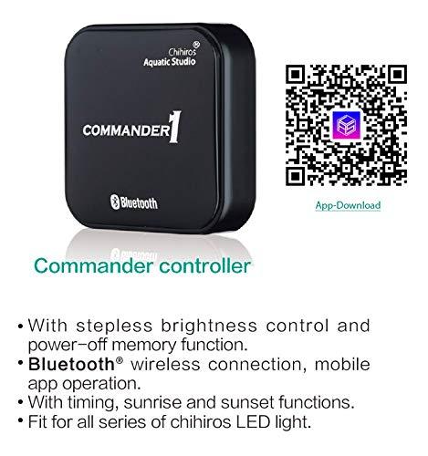 Chihiros LED Bluetooth Controller 'Commander' zonsopgang - zonsondergag simulatie voor alle series Aquarium verlichting, Commander1