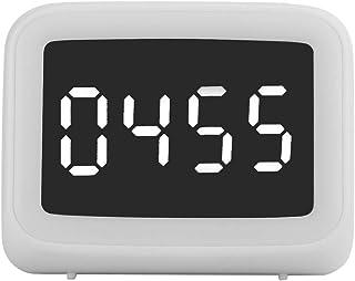 Altavoz Inalámbrico Portátil Blutooth 5.0, Altavoces Estéreos Multifuncional con Función de Radio FM, Reloj Despertador, L...