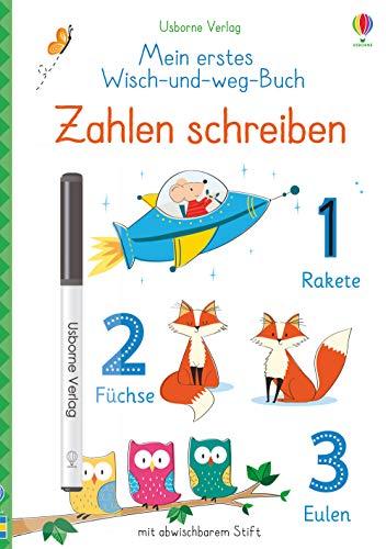 Mein erstes Wisch-und-weg-Buch: Zahlen schreiben: mit abwischbarem Stift