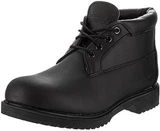 Mens Icon Premium Black Chukka Boot - 13 M