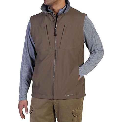 ExOfficio Men's Flyq Vest, Cigar, Small