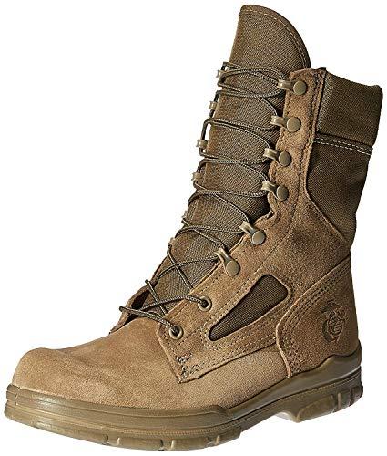 Bates Men's USMC Lightweight DuraShocks Boot Military & Tactical, Olive Mojave, 7