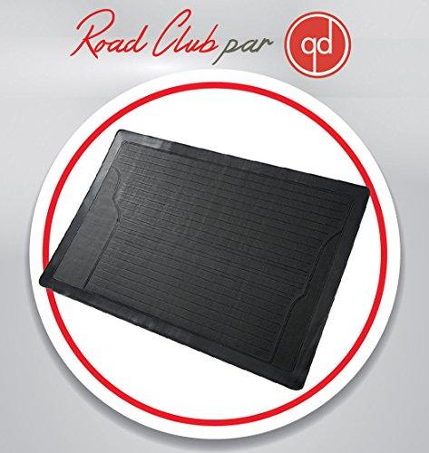 Tapis de coffre auto voiture en PVC découpable, antidérapant et universel 120 x 80 cm coloris noir