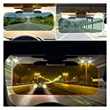 SHUAN QIAO Automobile Visiera Solare Anti-abbagliamento Anti Dazzle Windsheild Visor Vision Night Vision Goggles Sun Scudo Accessori per Interni Accessori Auto Sun Visors Clip