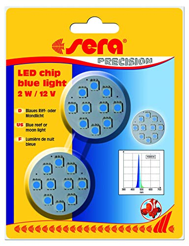sera LED chip blue light 2 W / 12 V 2 St.