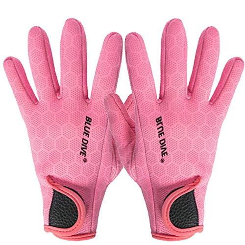 Guantes de neopreno antideslizantes de 1,5 mm, guantes de buceo térmicos, guantes de buceo, kayak, vela, paddle surf, natación, deportes acuáticos