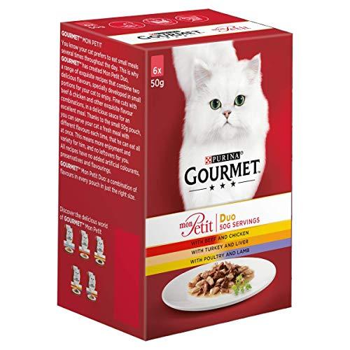 Gourmet Mon Petit Cat Food Pouch...