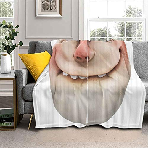 Home Throw Blanket Comics Fun Social Meme Lightweight Super Soft Cozy Luxury Bed Blanket It is A Perfect Addition to Any Room 60 x 80 Inch