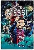 Rompecabezas Adultos Niños Puzzle 300 Piezas La estrella del fútbol Lionel Messi, 300 Piece 15.7x11inch(40x28cm) Sin Marco