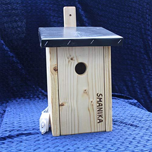 Generisch SMANIKA Nistkasten mit HD WLAN Kamera zur Vogelbeobachtung