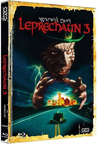 Leprechaun 3 - Tödliches Spiel in Las Vegas [Blu-Ray+DVD] - uncut - auf 222 limitiertes Mediabook Cover C