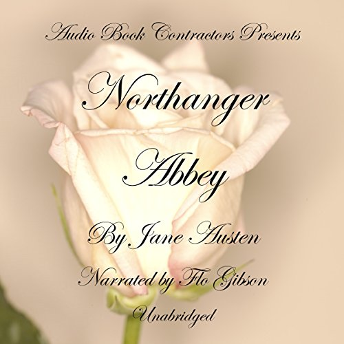 Northanger Abbey audiobook cover art