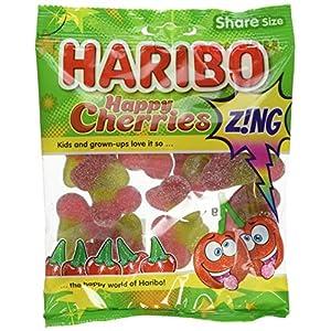 haribo happy cherries z!ng 140g (pack of 12) Haribo Happy Cherries Z!ng 140g (Pack of 12) 51hr2BUlBOL