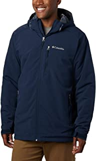 Columbia Men's Gate Racer Softshell Jacket, Collegiate Navy, XX-Large