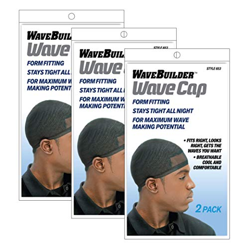 Wavebuilder Wave Cap 3 Packages with 2 each (Total of 6 Caps)