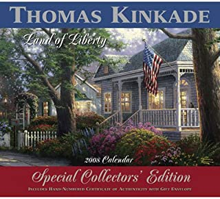 2008 Thomas Kinkade Collector's Edition: Land of Liberty wall