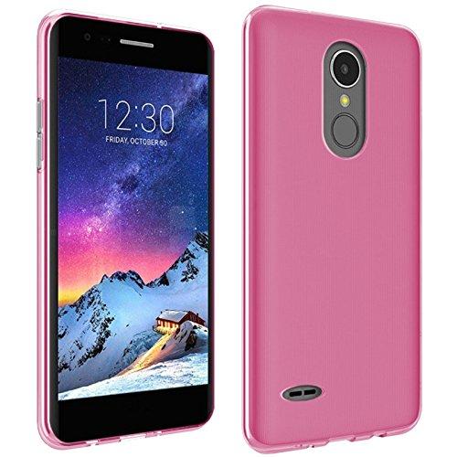 TBOC® Rosa Gel TPU Hülle für LG K8 (2017) X300 M200N (5.0 Zoll) Ultradünn Flexibel Silikonhülle [Nicht Kompatibel mit [LG K8 4G] – [LG K8 LTE]]