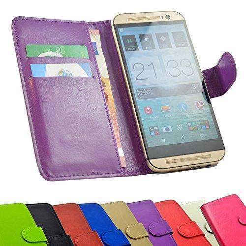 ikracase Handy-Hülle für Medion Life X5520 Tasche Handy-Tasche Hülle Schutzhülle in Lila