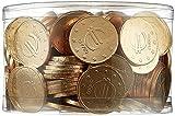 Theobroma Goldgeld Schokoladen Euros, lose Münzen in der Dose, 1er Pack (1 x 1 kg)