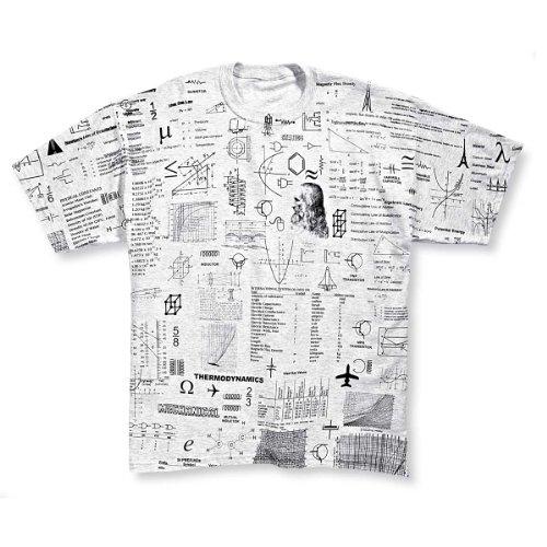 ComputerGear Engineering Cheat Sheet T Shirt Crib Sheet Engineer Geek Nerd, M