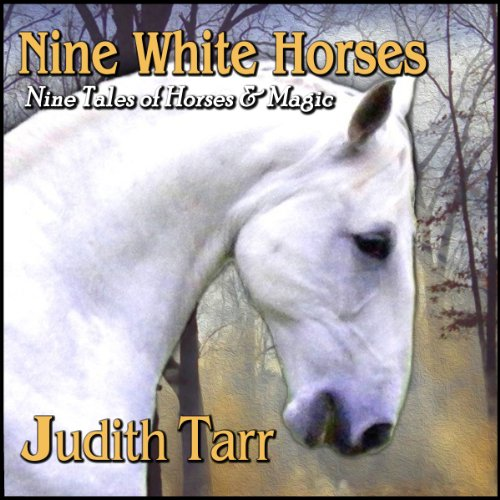 Nine White Horses audiobook cover art