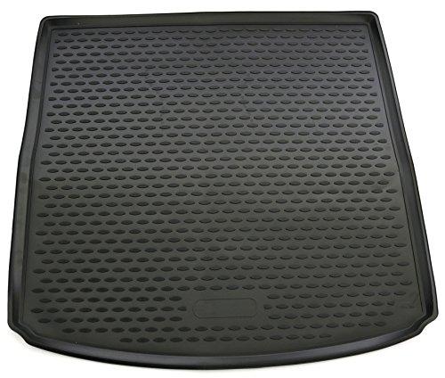 AD Tuning TM34004 Passform Gummi Kofferraumwanne, rutschfest, schwarz