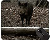 Yanteng Cojín de ratón de Cerdo Animal Lindo, Alfombrilla de ratón