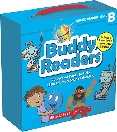 Buddy Readers (Parent Pack): Level B: 20 Leveled Books for Little Learners