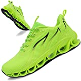 TIAMOU Mens Fashion Sneakers Walking Shoes Jogging Athletic Mesh Breathable Comfortable Running Sport