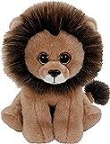 TY - Classics Louie, león de peluche, 23 cm, color marrón (90220TY) , color/modelo surtido