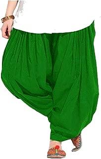 Afreet Fashion Women's Cotton Full Stitched Patiala Salwar Bottom (PT_1, Free Size)