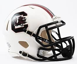 New Riddell South Carolina Gamecocks White Speed Mini Football Helmet