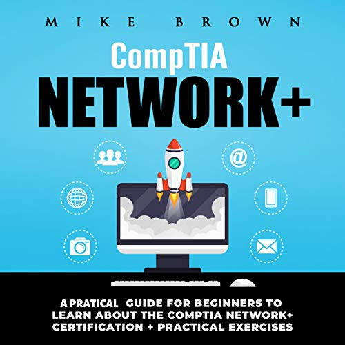 CompTIA Network+ audiobook cover art