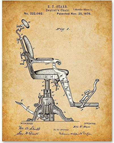 Dentist Chair Patent Print