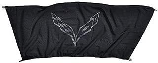 Trunk Security Upper Cargo Shade Cover for Corvette C7 Z06 Z51 2014-2019 (Upper with Corvette Emblem)