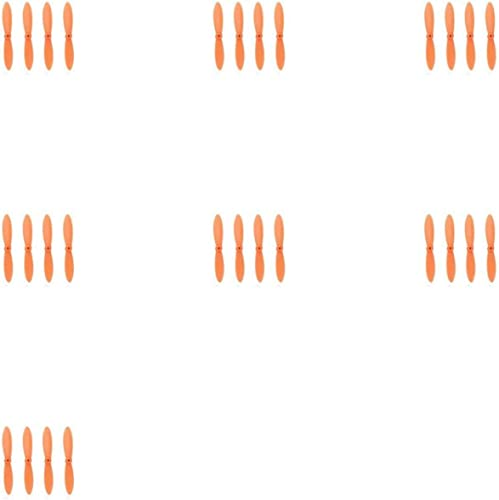 7 x Quantity of Walkera CX-10A All Orange Nano Quadcopter Propeller blade Set 32mm Propellers Blades Props Quad Drone parts - FAST FROM Orlando, Florida USA