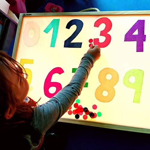 R-Crea - Mesas luz Montessori Certificado Calidad