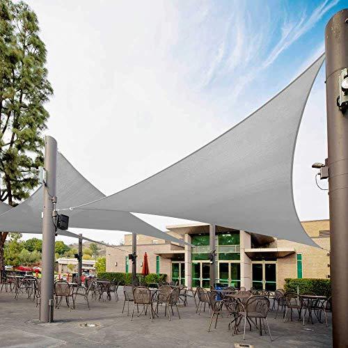 Dreieck Sonnenschirm Segel Baldachin Markise Outdoor Patio Stoff Shelter Stoff Bildschirm Markise UV-Schutz