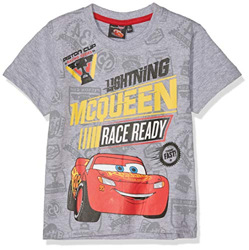 DISNEY CARS T-SHIRT-GRIGIO