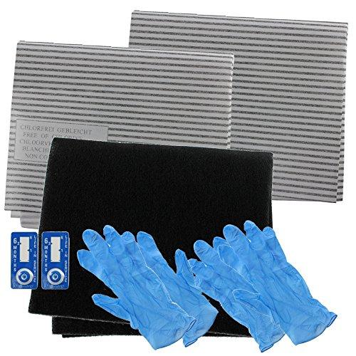 Spares2go campana extractora carbono filtro de grasa completo Kit para Samsung completo Cocina Extractor Ventilación