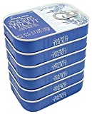 Trader Joe s Smoked Trout Fillets in Oil Skinless 3.9 oz Tin, (6 Pack)