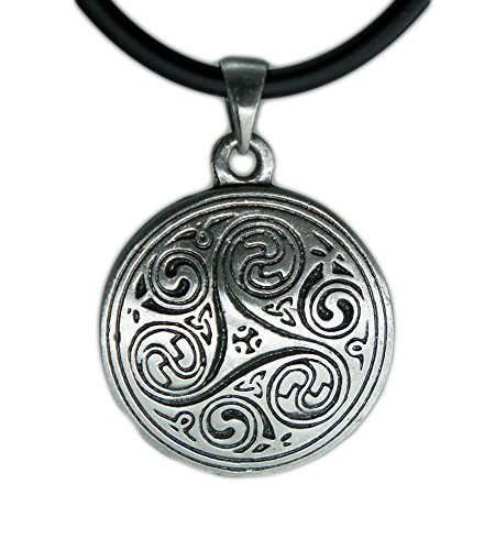 exoticdream Triskele I Magic Merlin Celtic Pewter Pendant