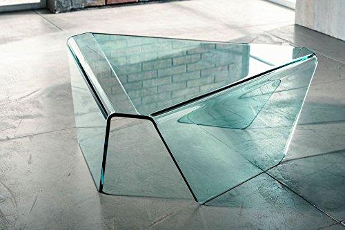IMAGO FACTORY Tribeca - Couchtisch aus gebogenem Glas