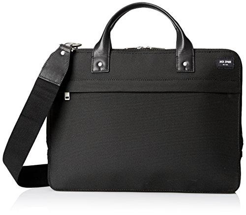 Jack Spade Men's Luggage Nylon Slim Brief, Black, One Size