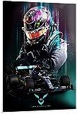 Kribee Lewis Hamilton Formel 1 Poster 04 Dekorative Malerei