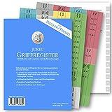 Griffregister für ZIEGLER TREMEL | selbstklebende Register mit Gesetzes- und §§-Bezeichnungen | 2021