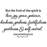 36'x24' But The Fruit of The Spirit is Love Joy...